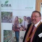 Colin Wetherley Mein, new president of GIMA