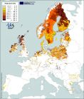 Figure 1. Peatland distribution within Northern Europe (European Commission)